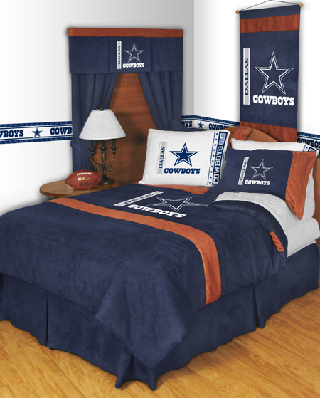 nfl dallas cowboys mvp bedding set discount home bedding