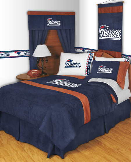 Nfl New England Patriots Mvp Bedding Set