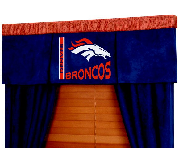Denver Broncos Nfl Football Valance