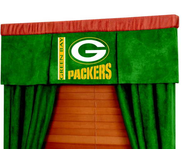 Lowes Bay Window Curtain Rod Green Bay Packers Golf