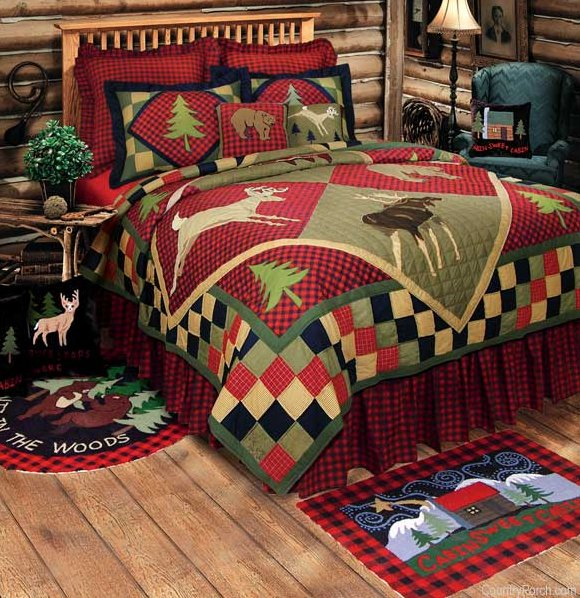 Lodge Quilt And Cabin Bedding
