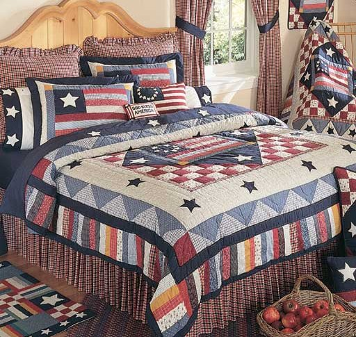 Americana King Size Bedding