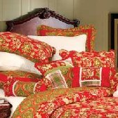 Alaysia and Avian French Paisley Euro Sham