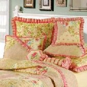 Rosemary and Gabrielle Floral Euro Sham