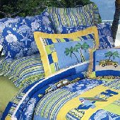 Surfers Bay Decorative Pillows