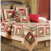 Forest Quilt and Bedding