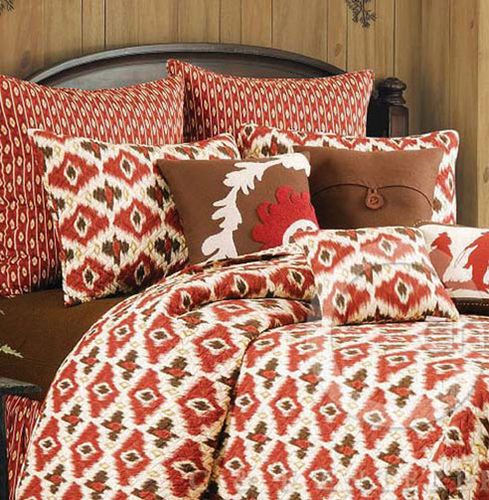 Ikat Quilt And Bedding