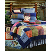 Northern Plaid Quilt and Bedding