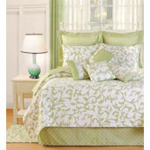 Serendipity Green Quilt and Bedding