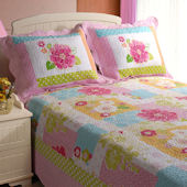 Greenland Home Fashions Adora Quilt Set
