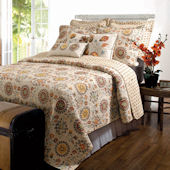 Greenland Home Fashions Andorra Quilt Set