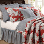 Greenland Home Fashions Lorraine Quilt Set