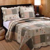Greenland Home Fashions Sedona Quilt Set