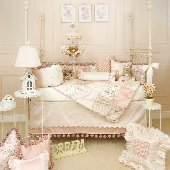 Glenna Jean Madison Four Piece Crib Bedding Set