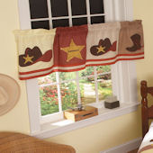 Cowboy Window Valance