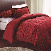 Damask Embossed Quilt Set