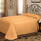 French Tile Gold Bedspread