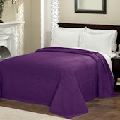 French Tile Plum Bedspread