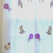 Giddy Up Set of 2 Window Drapes