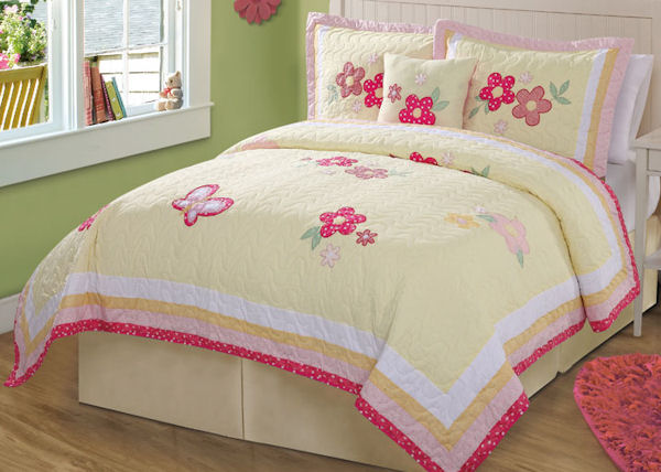 Golden Trail Quilt Set - Discount Home Bedding