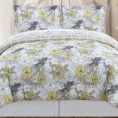 Peony Floral Quilt Set
