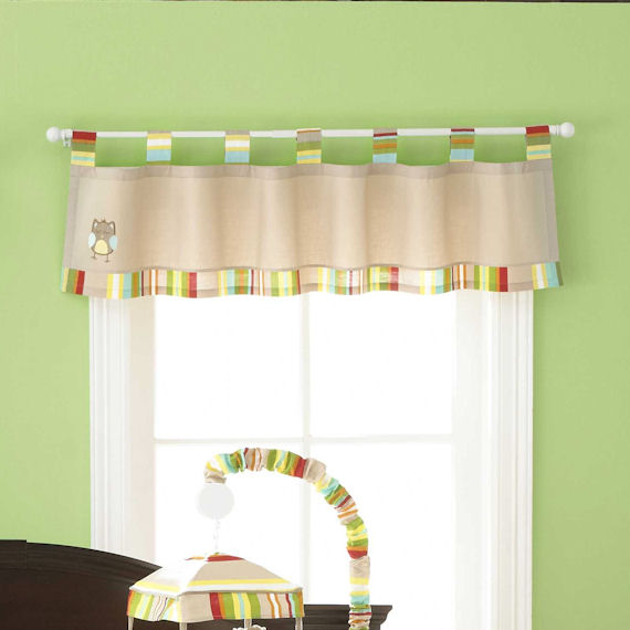 Abc Detailing Home: Jenny McCarthy ABC Window Valance