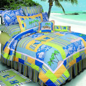 Surfers Bay Quilt Bedding Set