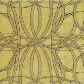The Rug Market Spiro Yellow Gold Rug 72257
