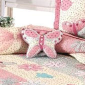 Crazy Daisy Butterfly Pillow SALE